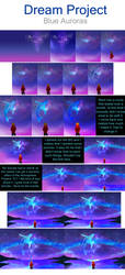 Blue Auroras Tutorial by SolarasReign