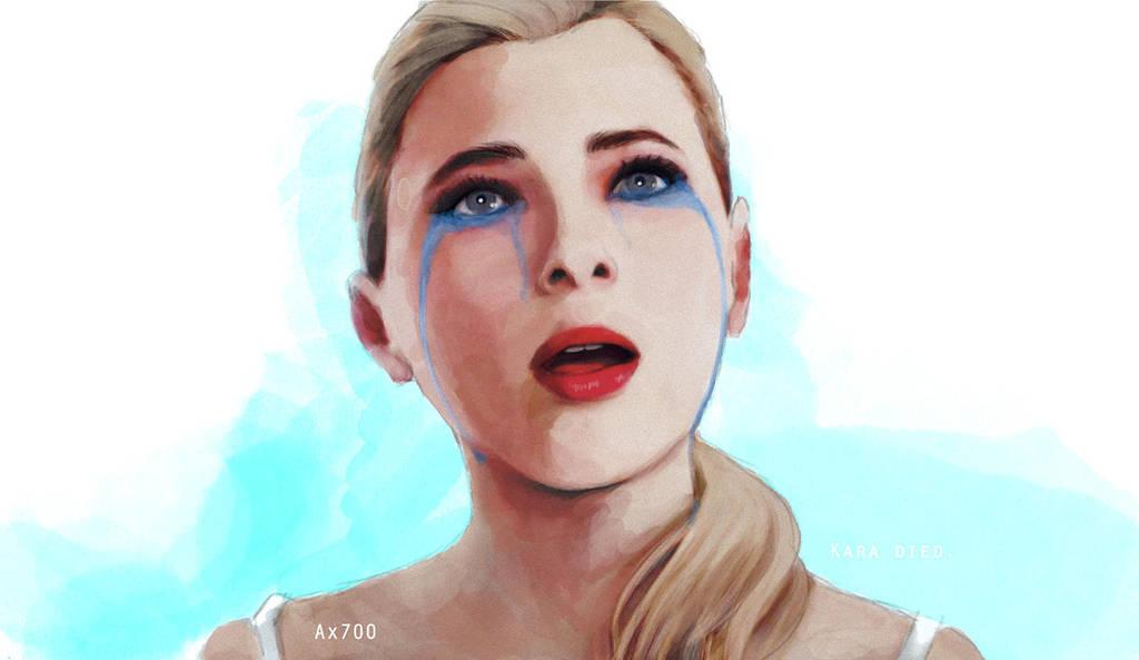 Blue tears by SolarasReign
