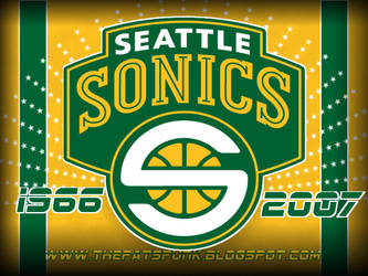 Seattle Sonics Background by FBGNEP