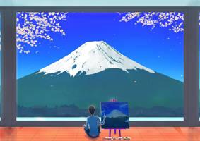 Fuji-Yama by Risa1