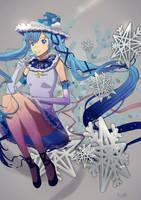 Miku snow design by Risa1