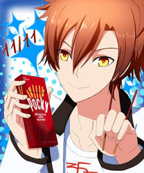 Happy Pocky day !!! by Risa1