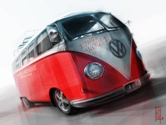 Volkswagen Microbus by TsTdesign