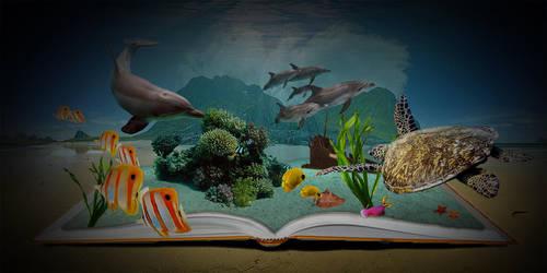 Ocean Escape by iwuvrubberduckies