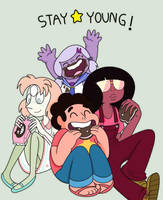 Stay young! by makimi