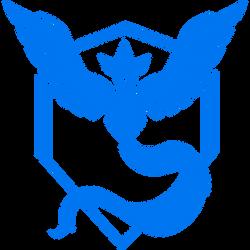 Pokemon GO Team Mystic Logo by tobuei