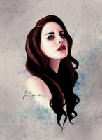 Lana Del Rey speedie by dewmanna