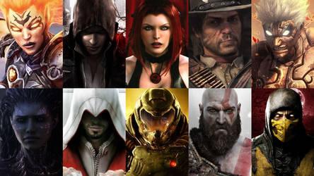 Top 10 Vengeful Video Game Heroes by HeroCollector16