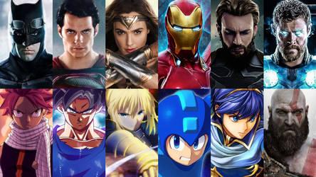 4 Way Heroes by HeroCollector16