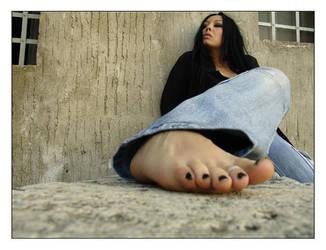 Foot by BleedingCountess