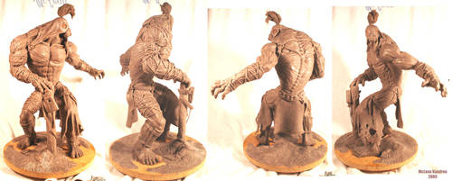 Maquette Sculpting Finished by mc-the-lane