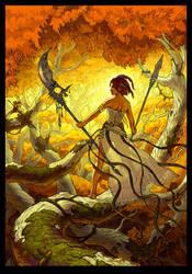 Huntress by mc-the-lane