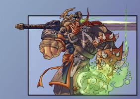 Spawn Garrison Colored by DaveIgo