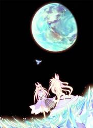 moon rabbit by Daisuke-Kimura