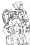 Shifters - Main Protagonists by shadowsmyst