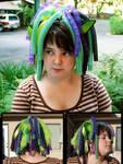 Cat Ears and Cyberlox by shadowsmyst