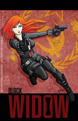 Black Widow Fanart by shadowsmyst
