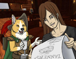 Digby and Jeremiah discuss the Tannery by shadowsmyst