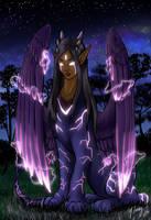 Lyra - Electric Sphinx by shadowsmyst