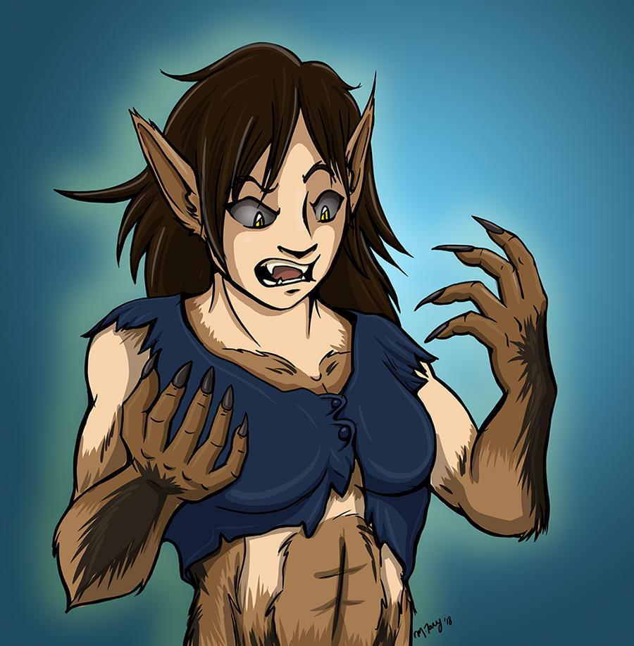 Suddenly Werewolf by shadowsmyst