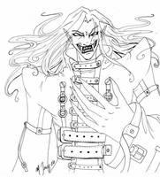 Concept sketch 2 - Maverick by shadowsmyst