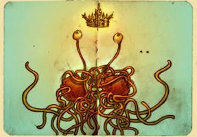 The Flying Spaghetti Monster by ggatz