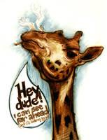 Giraffe by ggatz