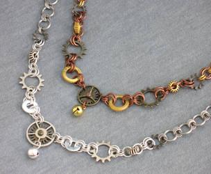 Clockwork Kitty by gothicspryte