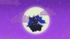 Luna wallpaper by SpyrotheFox
