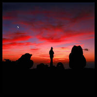 Lunar Sky by foureyes