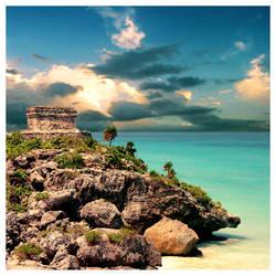 caribbean postcard by foureyes