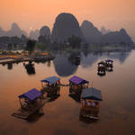 Yulong River Bridge by foureyes