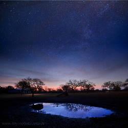 Texas Night Sky by foureyes