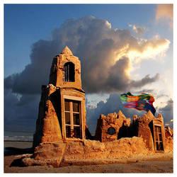sandcastle by foureyes