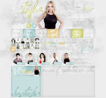 ordered layout ft. Eliza Taylor by Andie-Mikaelson