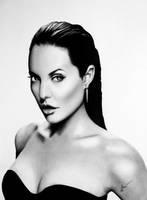 Angelina Jolie by SandraSaar