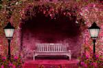 Spring Garden Premade Background by SusanaDS-Stocks