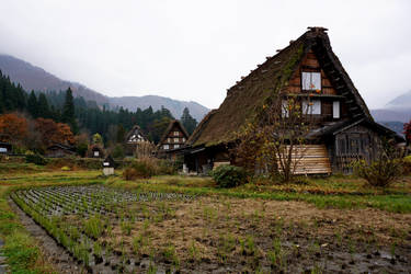 Shirakawa-Go Homes 2 by frobocop