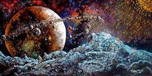 A Million Moons by Timeship