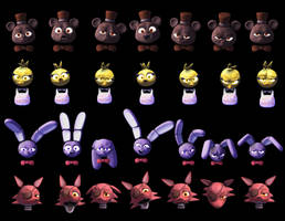 [FNAF Weaver]Expression Demo_HQ PIC TO ZOOM IN by lucifersam01