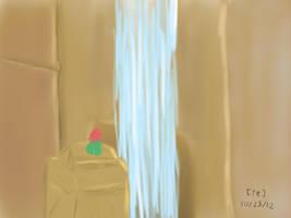 Always check behind waterfalls by DDRKirbyISQ