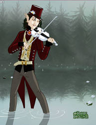 TCM Violinist: Forte Vespers by ALioness-w-NoRegrets