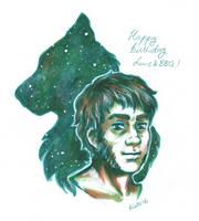 Happy birthday LuneandBarbecue by Kata-elf