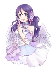 Love live Nozomi - Collab with Kolaholismi by Kata-elf