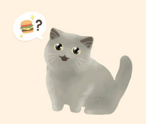 I can has cheezburger? by Kata-elf