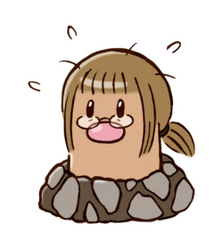 It's a me, a diglett by Kata-elf