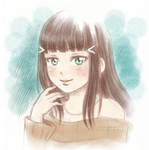 Dia sketch by Kata-elf