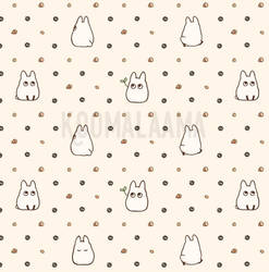 Totoro pattern by Kata-elf