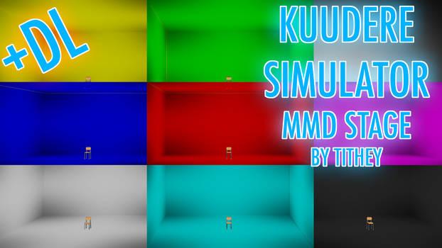 Kuudere Stage - Kuudere Simulator [MMD] + DL by Tithey