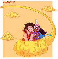 Steven Universe/Dragon Ball by Black-Claudia